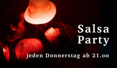 Salsa in M�nchen - Ank�ndigung: Club Party | Donnerstag